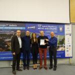 Βράβευση ως πολυπληθέστερος σύλλογος δρομέων στον 12ο Μαραθώνιο Μέγας Αλέξανδρος